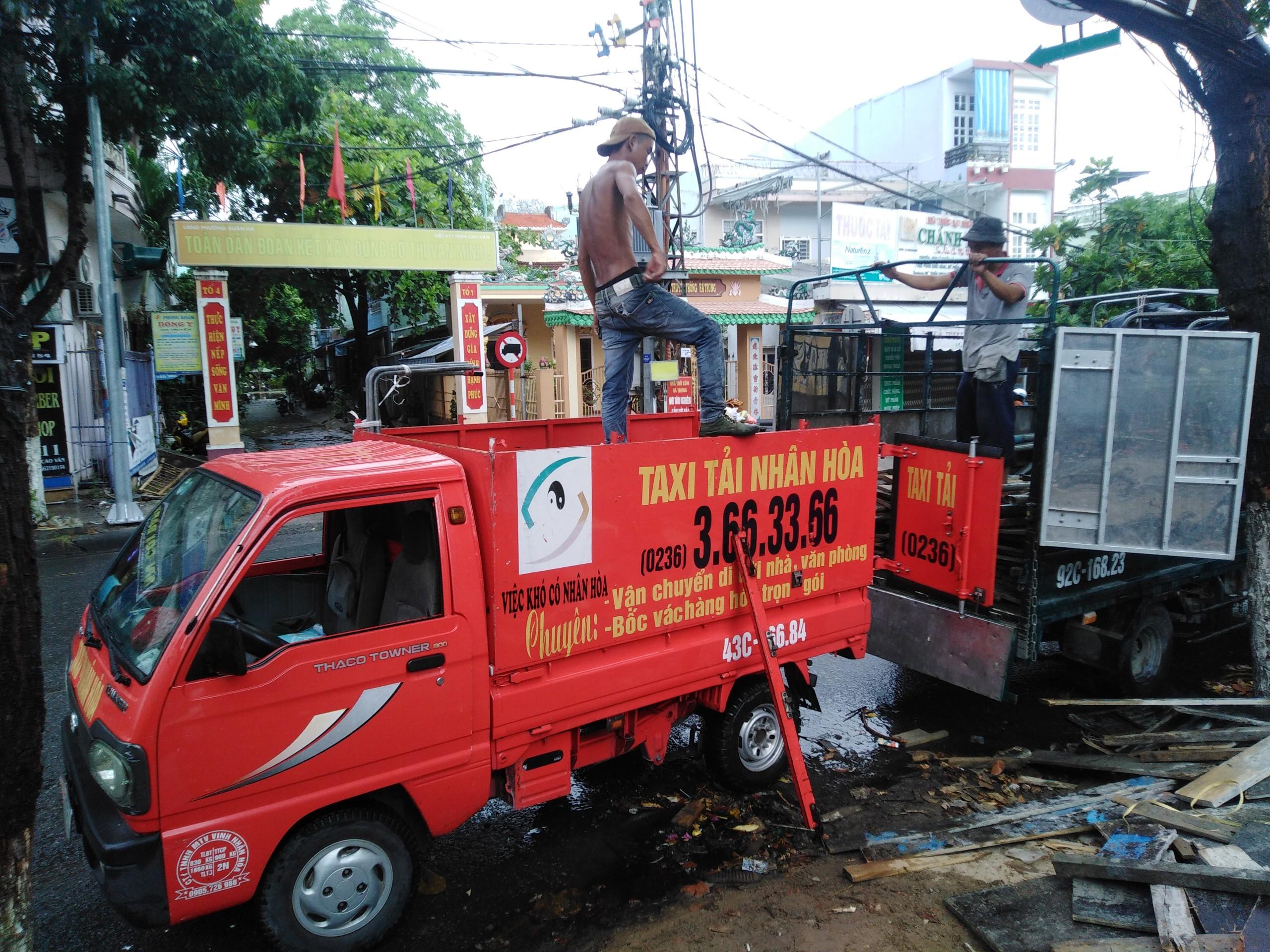 Xe Taxi Tải Chở Hàng Giá Rẻ Tại Đà Nẵng 01