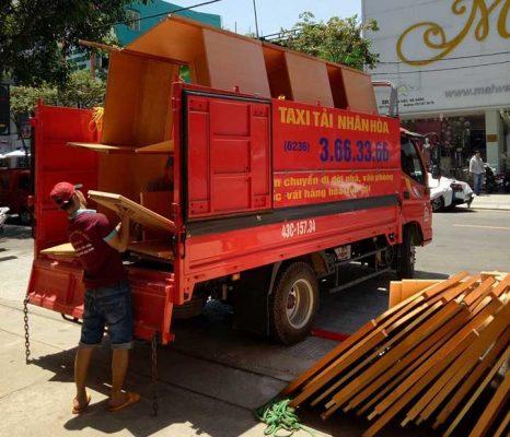 Xe Taxi Tải Chuyển Nhà Trọn Gói Giá Rẻ Tại Đà Nẵng 01