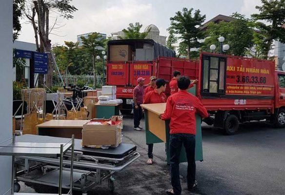 Taxi Nhân Hòa chuyển nhà trọn gói đường Phan Thanh